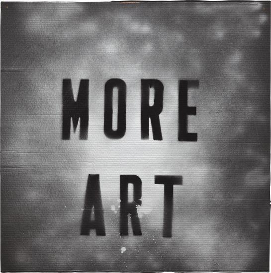 Mark Flood-More Art-2009