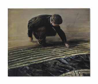 Michael Borremans-The Rug-2006