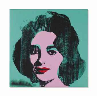 Andy Warhol-Liz-1964