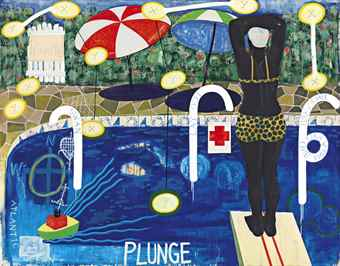 Kerry James Marshall-Plunge-1992