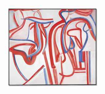 Willem de Kooning-Untitled XXIX-1986