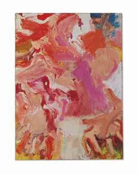 Willem de Kooning-Untitled-1974