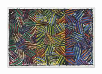 Jasper Johns-Untitled-1980