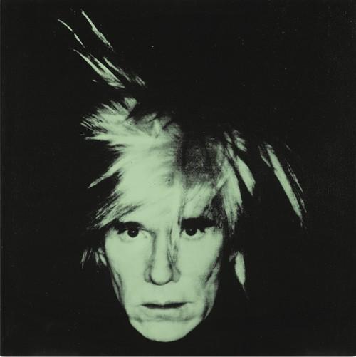 Andy Warhol-Self-Portrait (Fright Wig)-1986