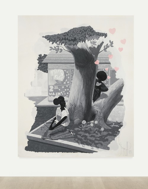 Kerry James Marshall-Vignette #5-2005