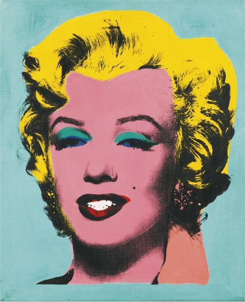 Elaine Sturtevant-Warhol's Marilyn Monroe-1967