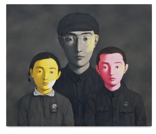 Zhang Xiaogang-Bloodline: Big Family No. 1-1994