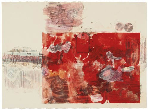 Robert Rauschenberg-Red Body-1969