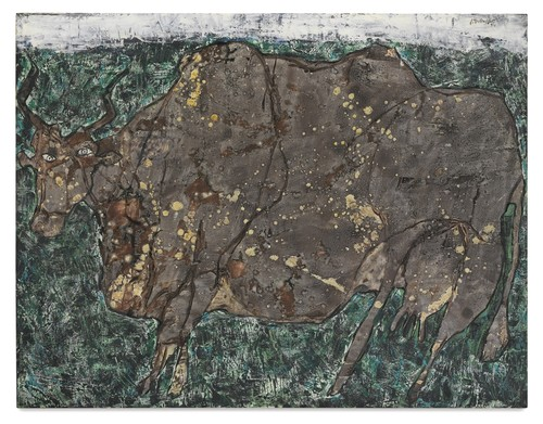 Jean Dubuffet-Vache A L'Herbage-1954