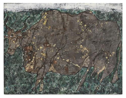 Jean Dubuffet-Vache A L'Herbage-1954