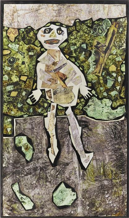 Jean Dubuffet-Georges Dubuffet Au Jardin-1956