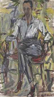 Elaine de Kooning-Leo Castelli-1954