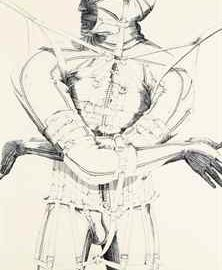 Nancy Grossman-Male Figure-1969