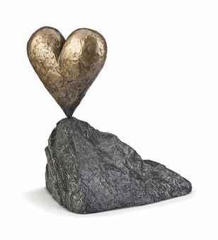 Jim Dine-Walla Walla Heart on a Rock-2005