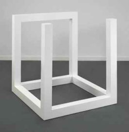 Sol LeWitt-Incomplete Open Cube 9/5-1974