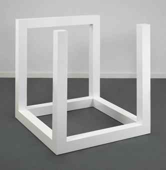 Sol LeWitt-Incomplete Open Cube 9/5-1974