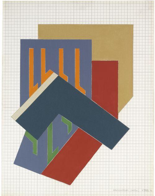 Frank Stella-Dawidgrodek (Sketch)-1972