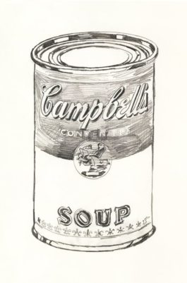 Andy Warhol-Campbell's Soup Can-1962