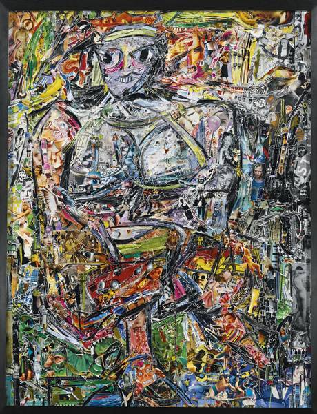 Vik Muniz-Woman I, After De Kooning (Pictures Of Magazines 2)-2013