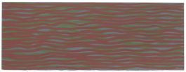 Sol LeWitt-Horizontal Lines In Color (More Or Less)-2003