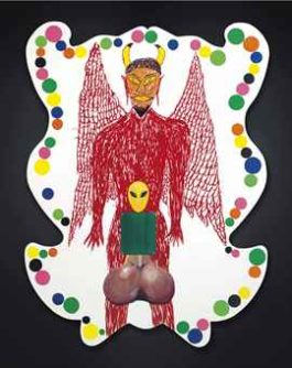 Mike Kelley-Castrati Satan-1995