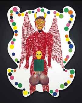Mike Kelley-Castrati Satan-1995