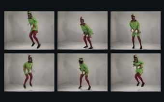 Bruce Nauman-No, No, New Museum-1987