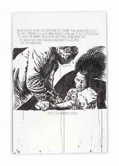 Raymond Pettibon-No Title (You reach out...)-2000