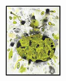 Carroll Dunham-Green Planet-1997