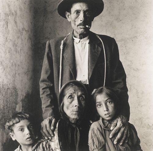 Irving Penn-Gypsy Family (Spain)-1966