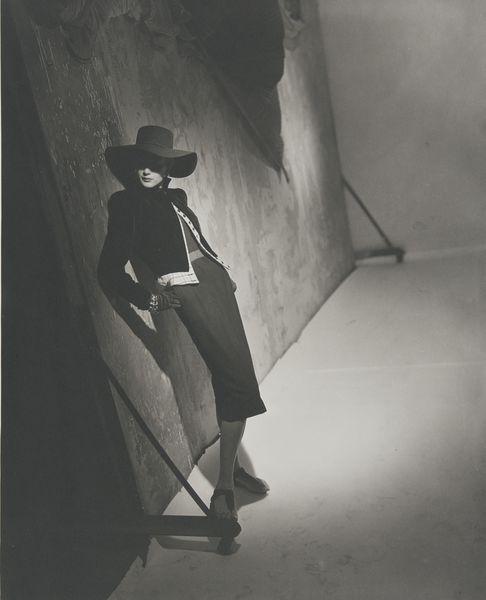 Horst P. Horst-Post WWII Fashion (Black)-1946