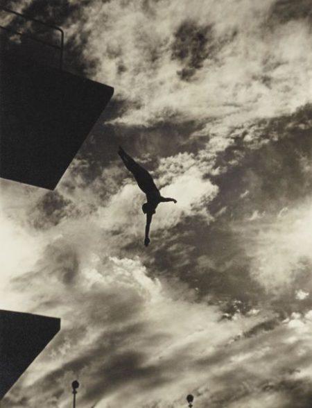 Leni Riefenstahl-The Highboard Diver, Berlin-1936