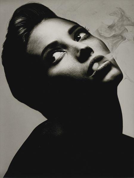 Albert Watson-Christy Turlington, New York-1990
