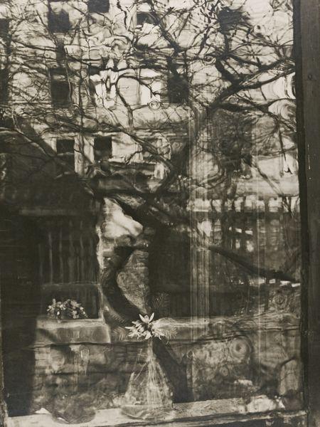 Josef Sudek-Window From Outside, Spring-1951