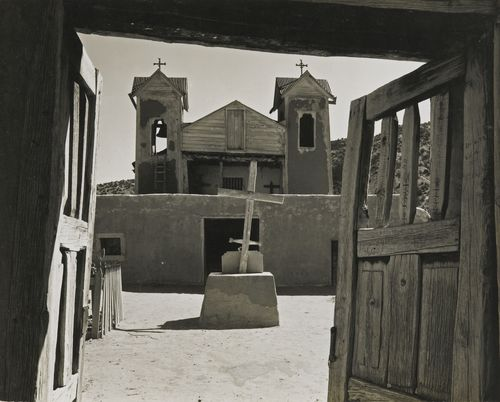 Ansel Adams-Santuario De Chimayo, New Mexico-1950