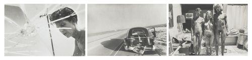 Larry Clark-Untitled Triptych-1970