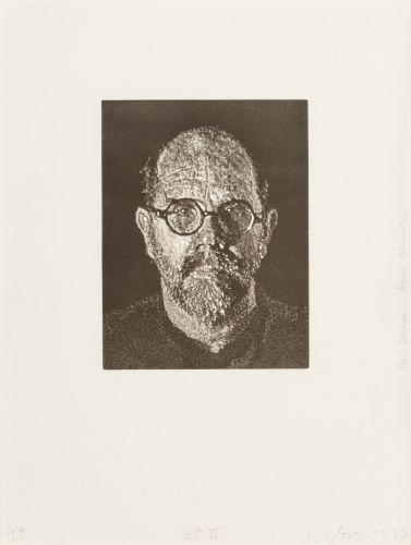 Chuck Close-Self Portrait #2-1997