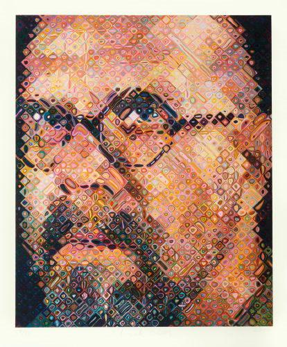 Chuck Close-Self-Portrait-2000