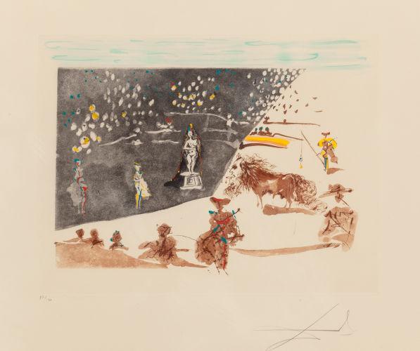 Salvador Dali-Tauromachie surrealiste-67-1966