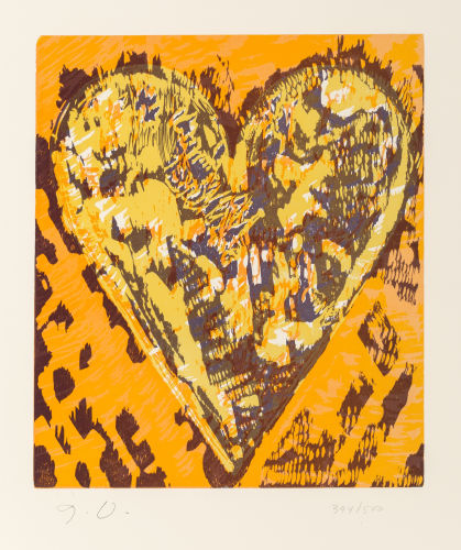 Jim Dine-Heart for Film-1993