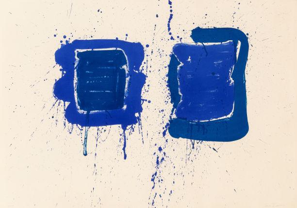 Sam Francis-Deux Magots (SF-3)-1960