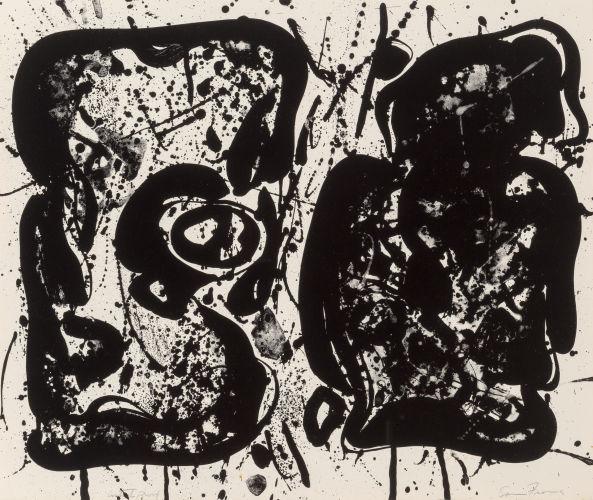 Sam Francis-Dark Egg-1963