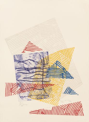 Sam Gilliam-Buoy Landscape III-1982