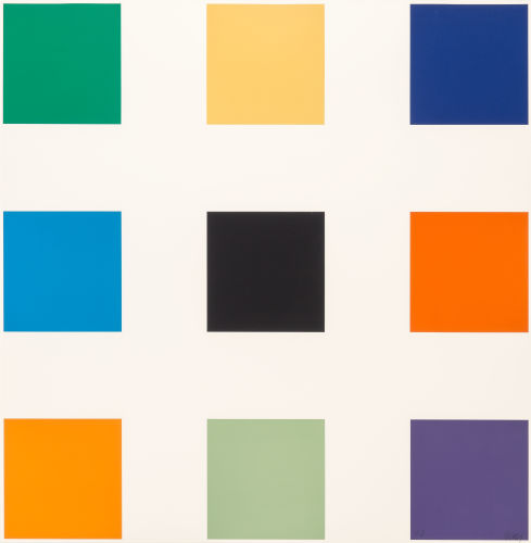 Ellsworth Kelly-Nine Squares-1977