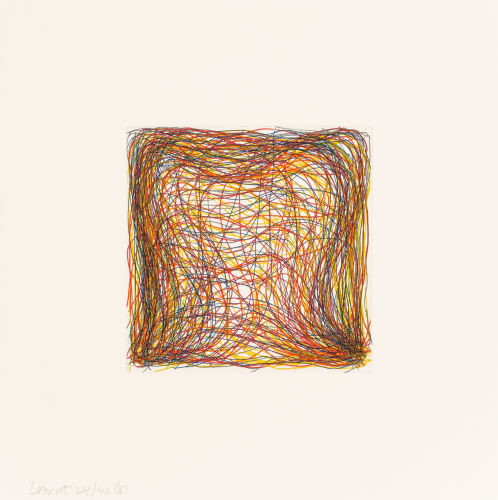 Sol LeWitt-Eight Small Etchings/Color-1999
