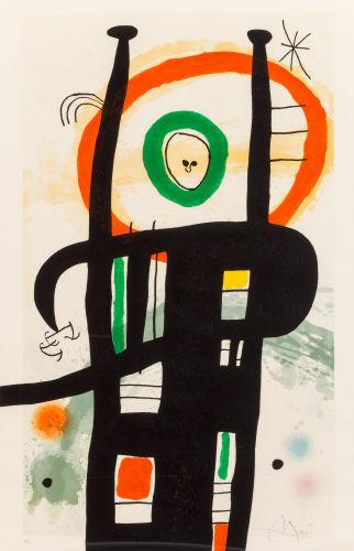 Joan Miro-Le grand ordinateur-1969