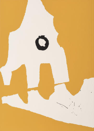 Robert Motherwell-Untitled, from Ten Works by Ten Painters-1964