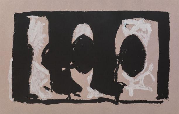 Robert Motherwell-Elegy Study I-1989
