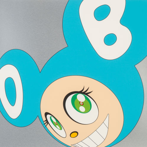 Takashi Murakami-And Then (Blue)-1999
