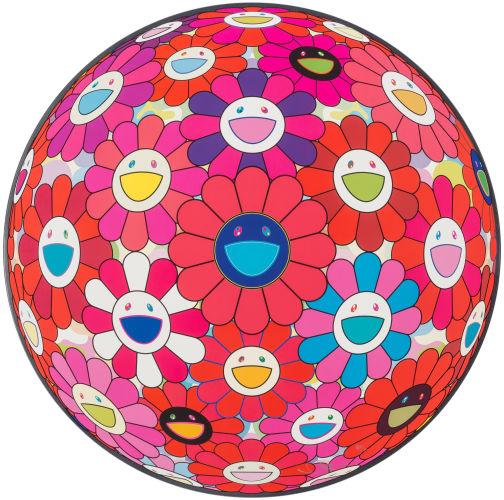Takashi Murakami-(i) Hey! You! Do You Feel What I Feel?; (ii) Flower Ball (3D)-2013